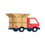 Hàng được chuyển đến khách hàng