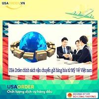 USA Order chính sáchvận chuyển gửihàng hóa từ Mỹ Về Việt nam