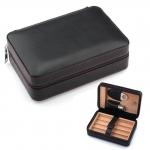 Hộp GALINER Genuine Black Soft Leather Travel