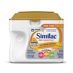 Similac Pro-Sensitive Infant Formula with 2'-FL Human Milk Oligosaccharide* (HMO) for Immune Support, 22.5 ounces, Single Tub (Lid Color Varies)