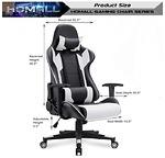 Homall Gaming Chair Racing Phong Cách Ghế Xoay Hỗ Trợ Thắt Lưng