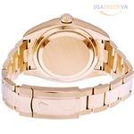 Sky Dweller Sundust Dial 18kt Everose Gold Men's Watch đồng hồ nam