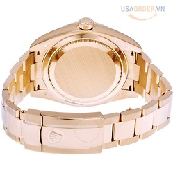 Sky Dweller Sundust Dial 18kt Everose Gold Men's Watch đồng hồ nam