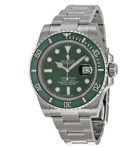 Submariner Green Dial Thép đồng hồ nam chính hãng ROLEX