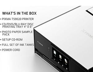 Máy In Canon TS9020 Wireless All In One hàng chính hãng nhập Mỹ