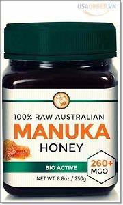 RAW Manuka Honey MGO 260+ (NPA 10+) 8.8oz (250g)