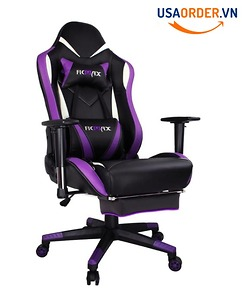 Roll over image to zoom in Ficmax Purple Gaming Chair High