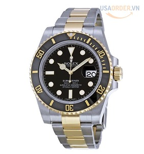 Submariner Oyster Bracelet Automatic Watch đồng hồ nam giới 116613BKSO
