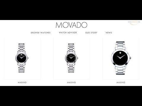Đặt hàng chính hãng: Đồng hồ cao cấp MOVADO®