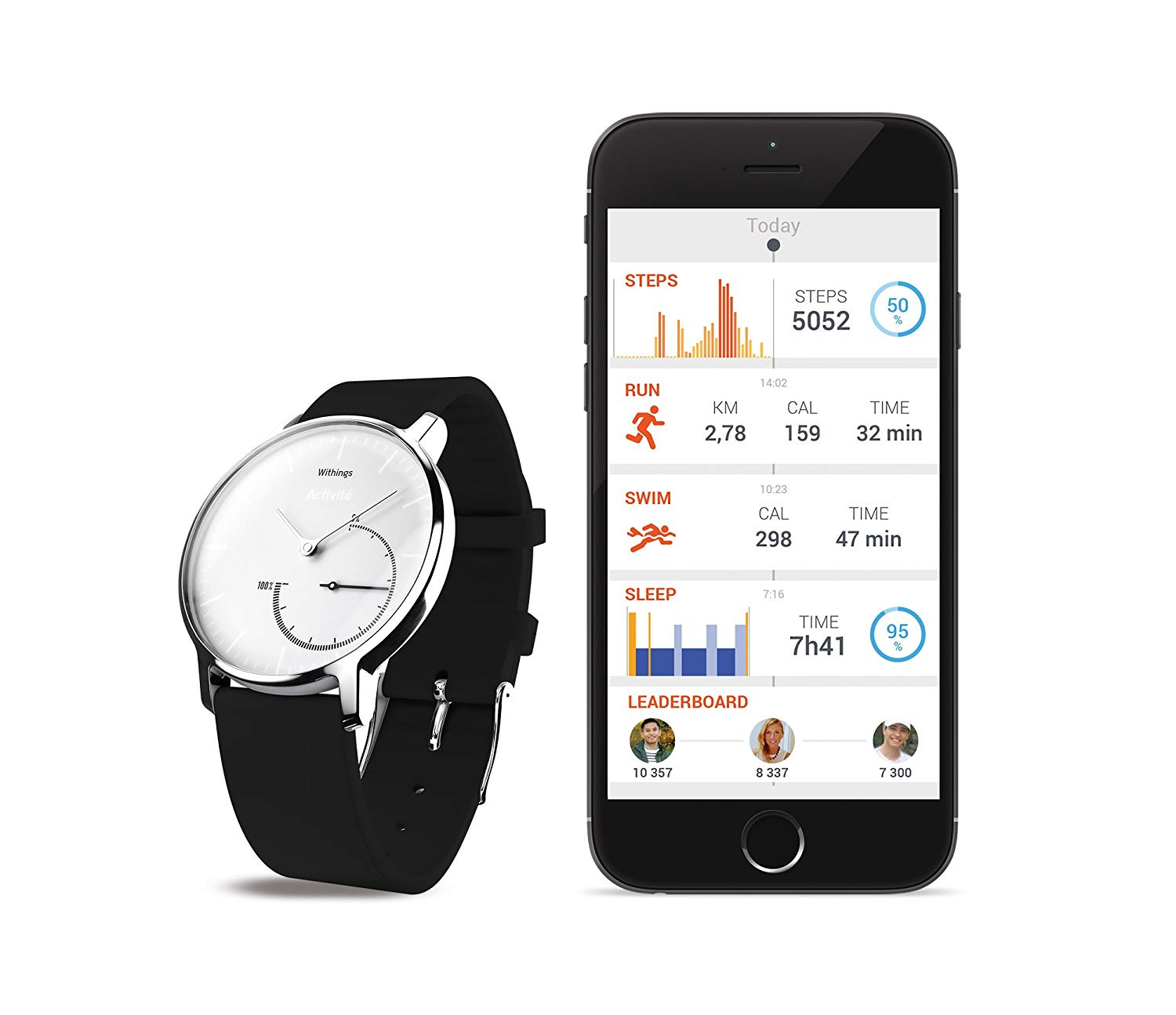 Ordersale: Withings Activité Steel - Activity and Sleep Tracking Watch