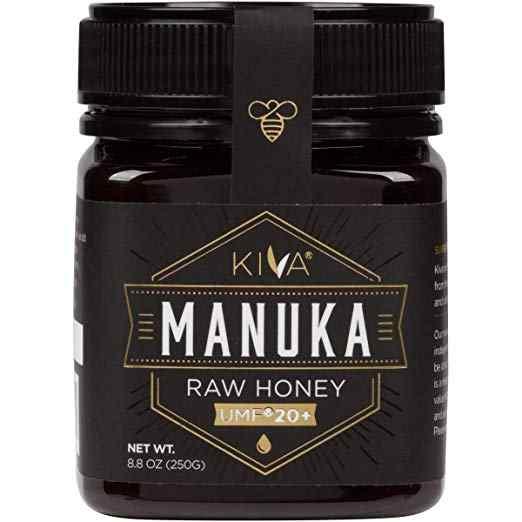 Chứng nhận UMF 20+, Mật ong Manuka nguyên - New Zealand (8.8 oz)
