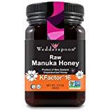 Mật ong Manuka cao cấp nguyên chất của Wedderspoon KFactor 16, 17.6 Oz, Không tiệt trùng, Mật ong New Zealand chính hãng, Đa chức năng, Không biến đổi gen Siêu thực phẩm
