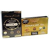 Mật ong Manuka mật ong 100% UMF 15+ và mật ong Manuka 100% ở dạng rắn từ New Zealand không thêm đường, không chứa maltodextrin 100% chất chống oxy hóa siêu thực nhiên tự nhiên