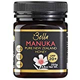 Bella New Zealand Mật ong Manuka được chứng nhận UMF 20+ |  8,8oz |  250g |  Nguyên Ultra Premium 100% Mật ong Manuka New Zealand |  Hỗ trợ miễn dịch tự nhiên