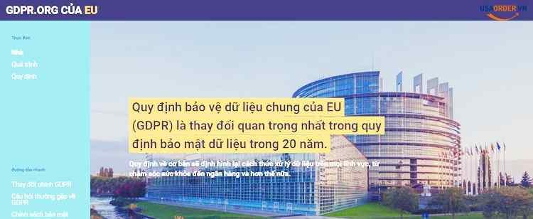 Quy trình lập pháp của Liên minh Châu Âu - Bảo vệ dữ liệu TMĐT
