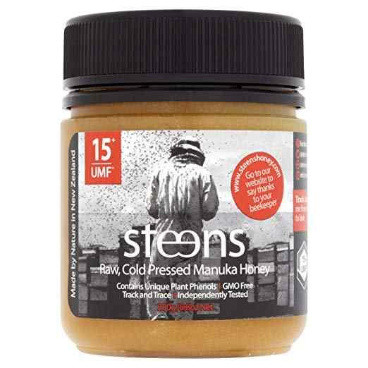 Steens Manuka Honey UMF 15 (MGO 514) 8.8 Ounce jar