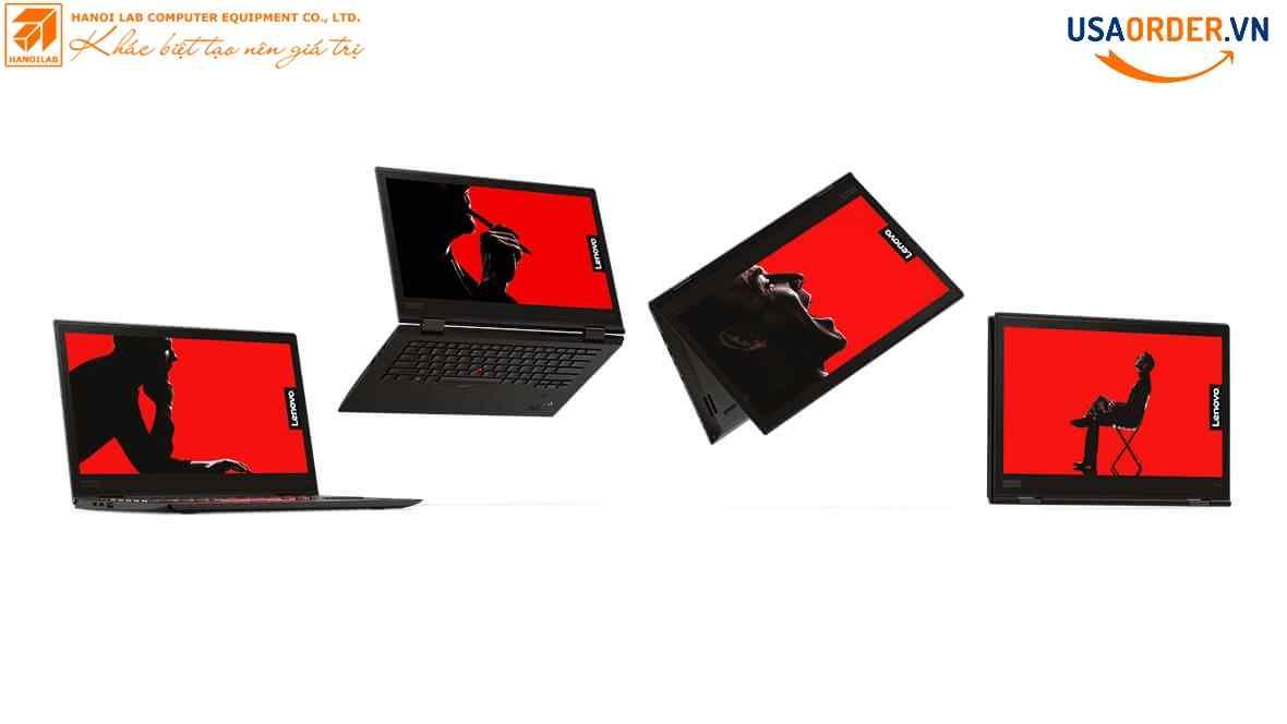 Lenovo ThinkPad X1 Yoga thể hiện trong bốn chế độ sử dụng khác nhau