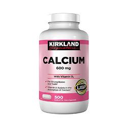 Viên Calcium 600mg With Vitamin D3 - 500 Viên - Nhập Khẩu Mỹ