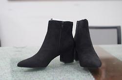 Giày Boots Nữ Steven Madden - Black - Nhập Khẩu Mỹ