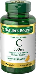 Viên Uống Nature's Bounty Vitamin C Immune Health 500mg - Nhập Khẩu Mỹ