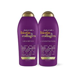 Dầu Gội + Dầu Xả Biotin & Collagen Shampoo 750ml - Nhập Khẩu Chính Hãng Từ Mỹ