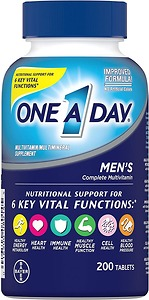Vitamin One A Day cho nam One A Day Men's Multivitamin 200 viên - Nhập Khẩu Mỹ