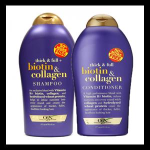 Dầu Gội + Dầu Xả Biotin & Collagen Shampoo 577ml - Nhập Khẩu Chính Hãng Từ Mỹ