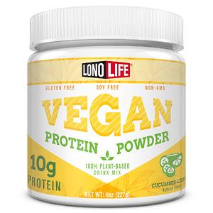 Bột bổ sung Protein LonoLife Vegan Protein Powder with 10g Protein - Nhập Khẩu Mỹ