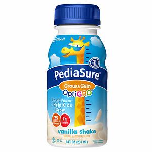 Thùng Sữa PediaSure OptiGRO Kids Shake 8 fl oz., 24 chai - Nhập khẩu Mỹ