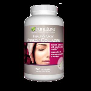 Viên uống bổ sung Collagen Trunature Healthy Skin Verisol Collagen 240 viên - Nhập Khẩu Mỹ