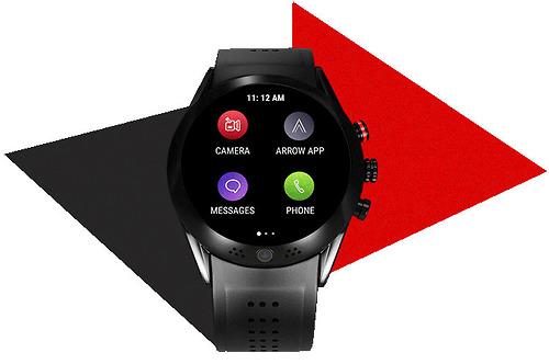 Nhập Mỹ Chính Hãng Clock Arrow Smartwatch with 360 Rotating HD Camera