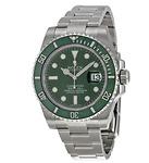 ROLEX Submariner Green Dial Thép đồng hồ nam chính hãng