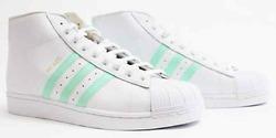 Adidas Mens Pro Model White/Easter Green