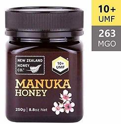 New Zealand Honey Co. Raw Manuka Honey UMF 10+ (MGO 263) | 8.8oz / 250g