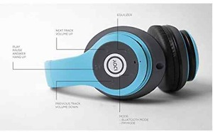 iJoy Matte Rechargeable Wireless Bluetooth Foldable Over Ear Headphones with Mic, Avatar on USAOrder