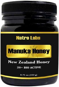 Mật ong Manuka New Zealand 24+ Mật ong sinh học Manuka mật ong