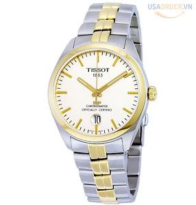 PR100 Chronometer Đồng hồ nam cao cấp hai tông màu T1014512203100