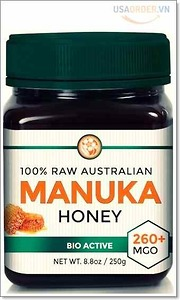RAW Manuka Honey MGO 260+ (NPA 10+) 8.8oz (250g)