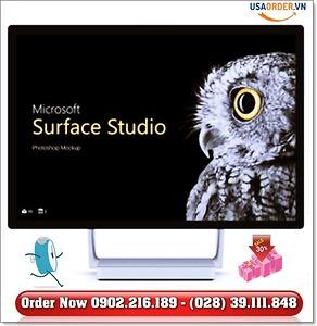 Surface book -Surface studio chính hãng đặt hàng giá rẻ tphcm