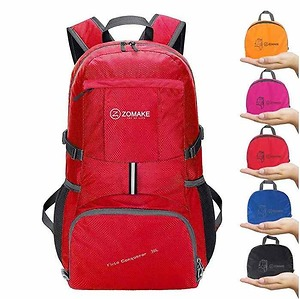 ZOMAKE Ultra Lightweight Hiking Backpack, 35L Packable Water Resistant Travel Backpack Foldable Daypack Outdoor Camping