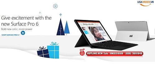 Surface Pro 6 mới với giá khuyến mãi $330. Mua ngay giả rẻ