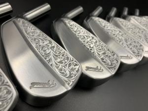 Fujimoto Golf Iron Handcrafted Hand Engraved - Chế Tác Thủ Công Bằng Tay Bới Nghệ Nhân Bậc Nhất Nhật Bản