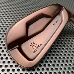 Miura Golf Irons TC-201 in Black Copper - Phiên bản đồng đen