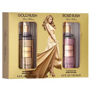 Nước Hoa Rosé Rush & Gold Rush Fragrance Mist Set 122 ml ( Hàng Có sẵn Tại Việt Nam )