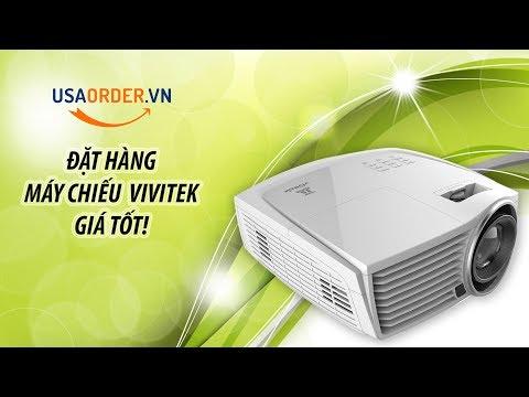 Máy Chiếu 3D Đặt Hàng Từ Mỹ - Vivitek H1186-WT